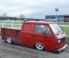 Slammed Rat VW Vanagon Doka  @campervanster
