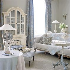 How To Deal With The Blues French Country CottageFrench Living Room