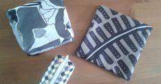 Syysloman ratoksi ompelin pussukoita Ikeasta ostetuista tilkuista. Ohjeen tein tuohon oikealla olevaan.     Neljä 20 cm x 20 cm tilkkua ... Handicraft Ideas, Ikea, Ikea Co