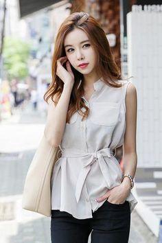 Chic blouse belt set NB-ST