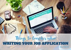 Tips and tricks for writing a successful job application including CV, competency-based tests, and personal statement. Read on a get into the job interview. Application Writing, Writing Jobs