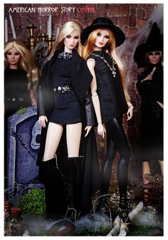Madison and Zoe | AMERiCAN HoRRoR SToRY CoVEN Erin as Zoe Be… | Flickr