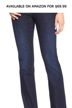 966b8bbe89a Banana Republic Womens 215657 Mid Rise Slim Boot Leg Jeans Dark Wash ◇  AVAILABLE ON AMAZON FOR: $69.99 ◇ Banana Republic Womens 215657 Mid Rise  Slim Boot ...