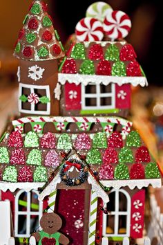 Gingerbread Houses Ideas and gingerbread recipe