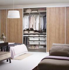 Storage solutions and made-to-measure sliding doors Elfa Closet, Closet Storage, Bedroom Storage, Closets, Closet Organization, Layout Design, Tile Design, Dubai Miracle Garden, Shelving Solutions