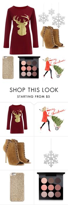 """""""Countdown to Christmas:22 days"""" by lydiaann05 ❤ liked on Polyvore featuring Michael Kors, Shishi, MAC Cosmetics and countdowntochristmas"""