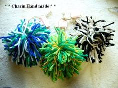 * Charin Hand made *クリスマスオーナメント/ボンボン