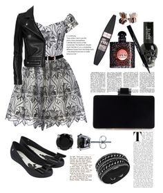 """""""Untitled #291"""" by tjoyreeves1 ❤ liked on Polyvore featuring Alice + Olivia, Swarovski, Melissa, BERRICLE, Yves Saint Laurent, Maybelline, Givenchy and IRO"""