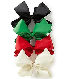 Copper Key 4-Pack Holiday King Bow Set