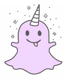 Snapchat unicorn logo