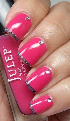 Colores de Carol: It's So Easy Nail Art (Pink Wednesday)