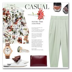 """""""comfy Casual"""" by cilita-d ❤ liked on Polyvore featuring Erdem, MANGO, Sanayi 313, Rochas, Garance Doré, Pomellato and IWC Schaffhausen"""
