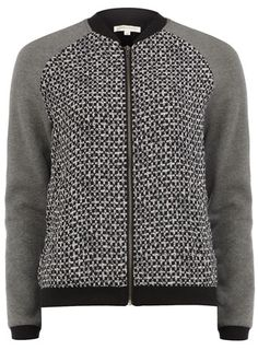 Contrast cross bomber jacket - Sale & Offers