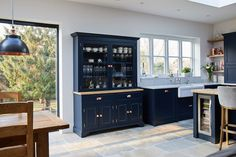 Project 23 – Guilford – The Main Company Kitchen Dresser, Kitchen Cabinets Decor, Home Decor Kitchen, Interior Design Kitchen, New Kitchen, Home Kitchens, Kitchen Ideas, Open Plan Kitchen Living Room, Kitchen Dining Living