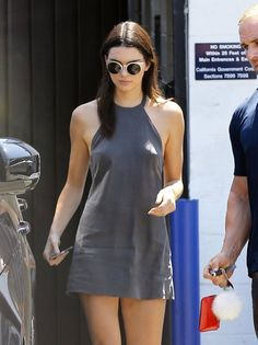 Kendall Jenner Leaves a Production Studio
