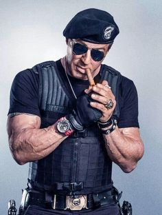 Stallone as Barney Ross ( expendables 3 )
