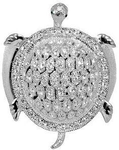 Swarovski Crystal Sea Turtle Napkin Ring Set