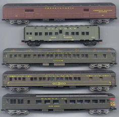 PULLMAN TROOP TRAIN CARS