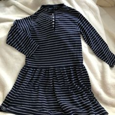 1a2845a80fe Lands End Girls Dress long sleeve size 7 8  fashion  clothing  shoes