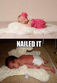 Nailed it! LOL
