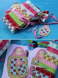 """Sweet Matryoshka"" designed by Rosalie Dekkar for Rosalie Dekkar Designs."