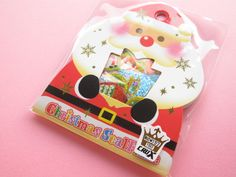 Kawaii Cute Merry Christmas (Xmas) Sticker Flakes Sack Crux (00253)