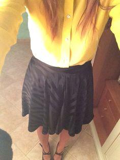 My new skirt handmade by me