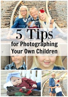 you don't need to hire a photographer to take great pictures of your kids.  Some simple tips for getting the best shots without fancy equipment.  Perfect for Christmas and Holidays!