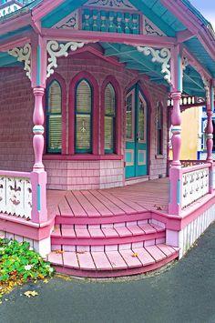 Gingerbread house, Martha's Vineyard, Massachusetts