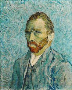 Autoritratto, Vincent Van Gogh - Museo d'Orsay (Parigi). Uno dei suoi più celebri dipinti a olio su tela realizzato nel 1889.