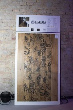 "Ronald Van Der Hilst's ""Tulipae Andromeda"": designe parquet produced by XILO1934. Presented during the ""design party night"" in Budapest. April23, 2015."
