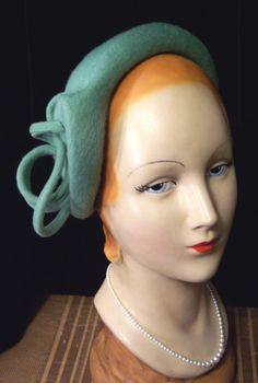 All Things Millinery #millinery #hats #hat #headwear #headpiece #vintage 40s