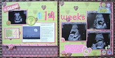 i just love the idea of a scrapbook of the pregnancy and first yea of life