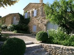 Lovely shutters - pretty property in the Luberon
