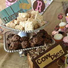 Charli's Cowgirl party! http://mommy2charli.blogspot.com/2012/04/charlis-cowgirl-birthday-party.html?m=1
