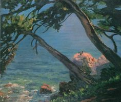 """""""Antibes""""(1930 ) --- Artist Sir Winston Churchill. Few people know that British politician, Prime Minister of the United Kingdom Winston Churchill (30 November 1874 – 24 January 1965) was also an amateur artist, honorary member of the Royal Academy of Arts. He discovered his passion for painting immediately, started painting at the age of 40. And never stopped, having created a big collection of more than 500 paintings!"""