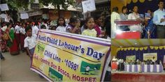 Hospet Celebrates World Day against Child Labour : dbbangalore.org