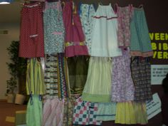 2011 - made 200 pillowcase dresses. They were sent to an Orphanage in West Africa