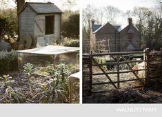 Walnuts Farm – Nick & Bella – the rustic shoot location house | Fencing + Gates