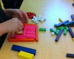 """Cuisenaire rods - be sure to click """"Cuisenaire rods prompts and riddles"""""""