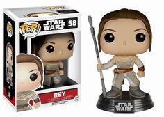 Star Wars Episode VII POP! Vinyl Wackelkopf-Figur Rey 10 cm