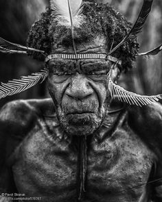 """""""Contact"""" By Pavol Stranak, to buy the print or see the photo in full size, visit 1x.com #1x #photoart #sublime #tribe #papua #indonesia"""