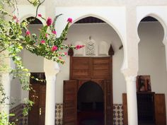 Vchod do mojej izby z vnútornej predsiene alebo tzv. courtyard.