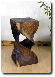 Thai Furniture...Double Twist Stool or Stand