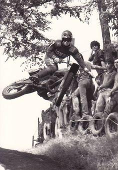 Vintage Honda Motocross - Table Top - Classic Dirt Bikes