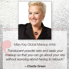 Mary Kay Global Makeup Artist Charlie Green loves the new Mary Kay® Translucent Loose Powder! Here's why: