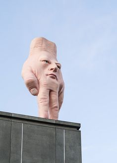 Sculpture by Ron van Hout New Zealand