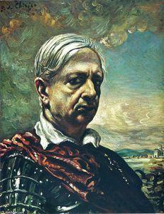 autoportrait - (Giorgio De Chirico)