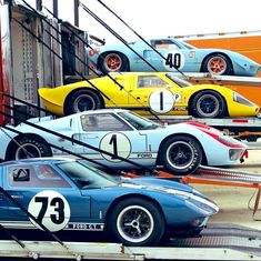- Shelby American Collection - From top to bottom: 1968 1967 1966 Ford Gt40, Ferrari F40, Sports Car Racing, Sport Cars, F1 Racing, Le Mans, Grand Prix, Shelby Car, Gt Turbo