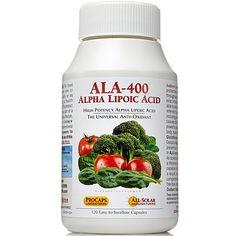 Andrew Lessman New Alpha Lipoic Acid-400 - 120 capsules